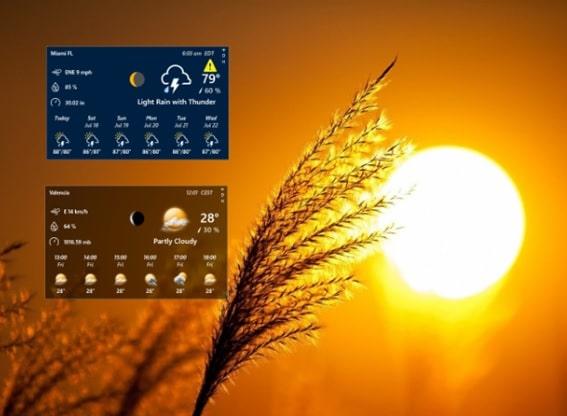 Rainmeter_weather