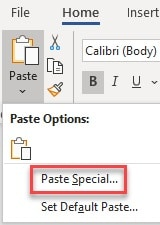 Paste_option