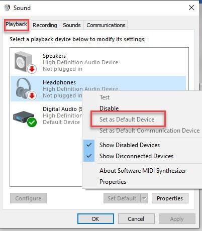 Playback_default_device